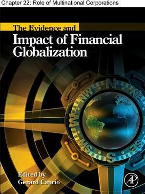 Chapter 22, Role of Multinational Corporations in Financial Globalization
