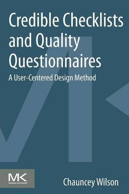 Credible Checklists and Quality Questionnaires