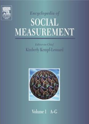 Encyclopedia of Social Measurement