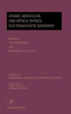 Atomic, Molecular, and Optical Physics: Charged Particles, Volume 29A