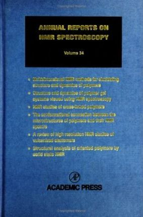 Annual Reports on NMR Spectroscopy: v. 34