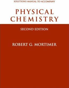 Physical Chemistry: Physical Chemistry, Student Solutions Manual Student Solutions Manual