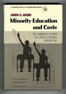 Minority Education and Caste