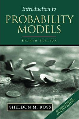 Introduction to Probability Models, ISE