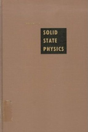 Solid State Physics: v. 12