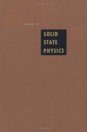 Solid State Physics: v. 13