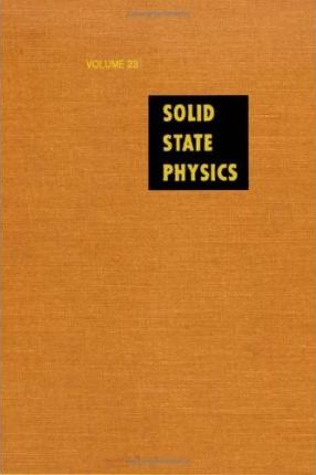 Solid State Physics: v. 23
