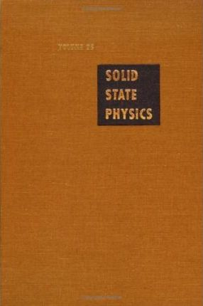 Solid State Physics: v. 25