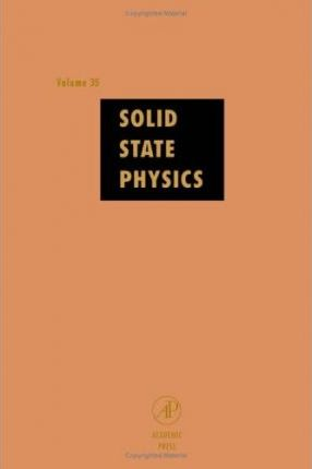 Solid State Physics: v. 35