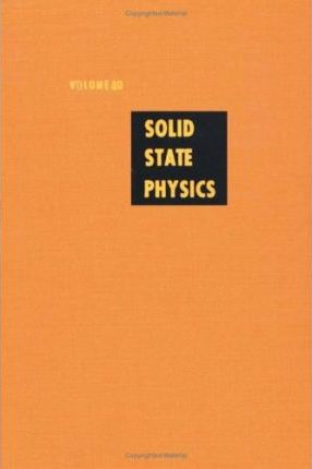 Solid State Physics: v. 40