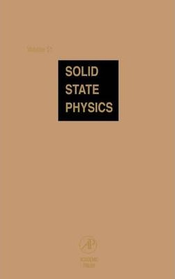 Solid State Physics: Volume 51
