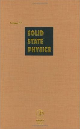 Solid State Physics: Volume 52