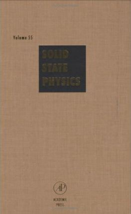 Solid State Physics: Volume 55