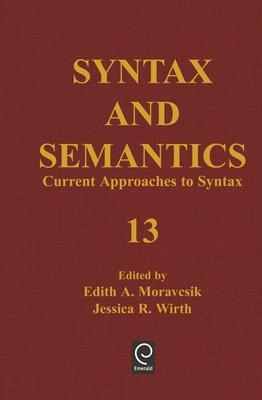 Current Approaches to Syntax