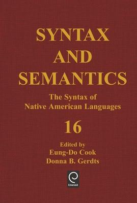 The Syntax of Native American Languages