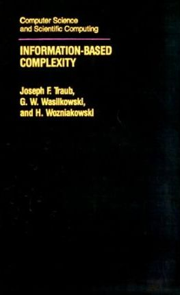 Information-based Complexity