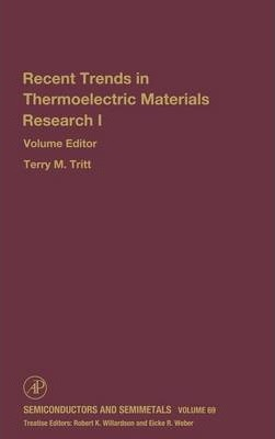 Advances in Thermoelectric Materials I: Volume 69