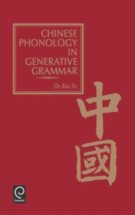 Chinese Phonology in Generative Grammar