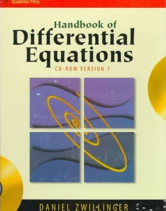 Handbook of Differential Equations (CD-ROM Version 1 only)