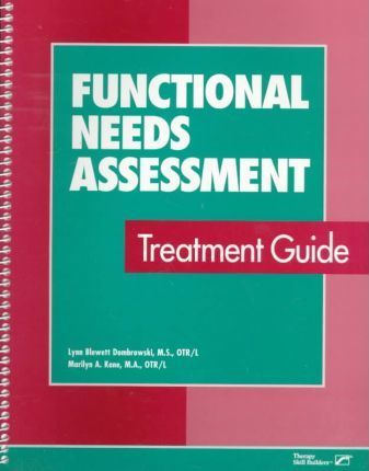 Functional Needs Assessment Treatment Guide