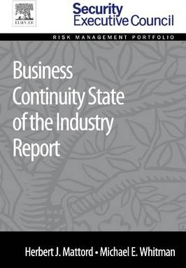 Business Continuity State of the Industry Report
