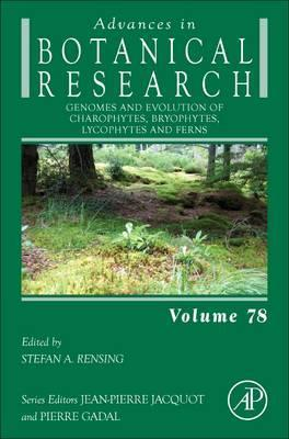 Genomes and Evolution of Charophytes, Bryophytes, Lycophytes and Ferns: Volume 78
