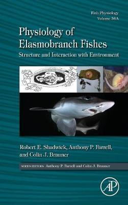 Physiology of Elasmobranch Fishes: Structure and Interaction with Environment: Volume 34A