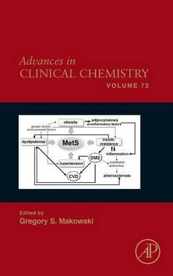 Advances in Clinical Chemistry: Volume 72