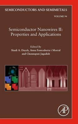 Semiconductor Nanowires II: Properties and Applications: Volume 94