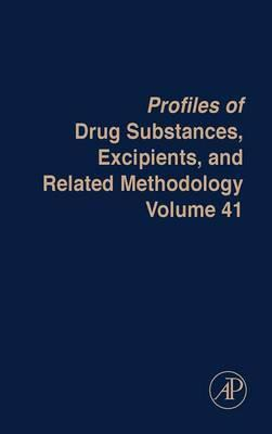 Profiles of Drug Substances, Excipients and Related Methodology: Volume 41