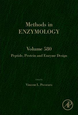 Peptide, Protein and Enzyme Design: Volume 580