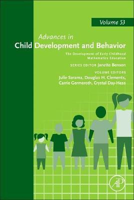 The Development of Early Childhood Mathematics Education: Volume 53