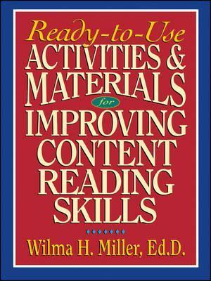 Ready-to-Use Activities & Materials for Improving Content Reading Skills