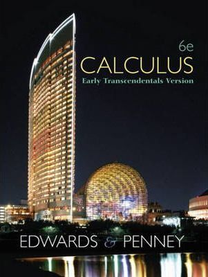 Calculus, Early Transcendentals