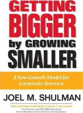 Getting Bigger by Growing Smaller