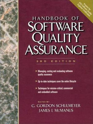 The Handbook of Software Quality Assurance