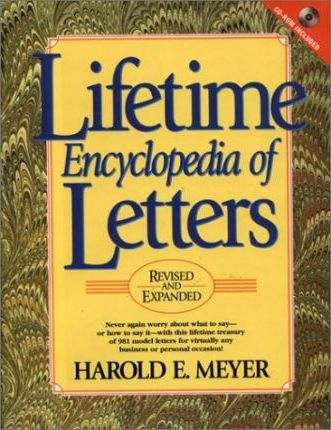 Lifetime Encyclopedia Letters CDROM