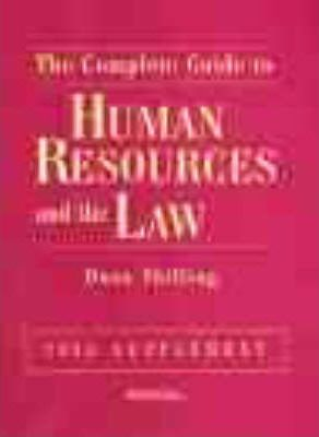 Human Resources Law 1999 Supplement