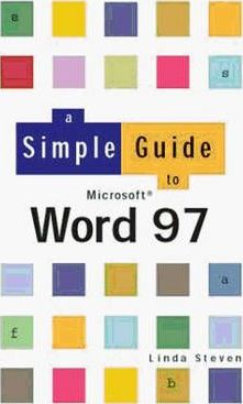 Simple Guide To Word 97