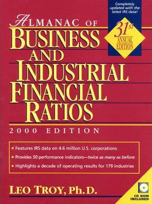 Almanac of Business and Industrial Financial Ratios, 2000
