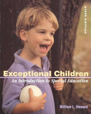 Exceptional Children:an Introduction to Special Education