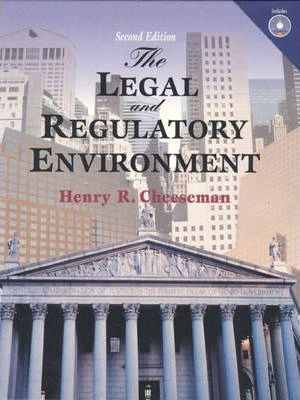 The Legal and Regulatory Environment