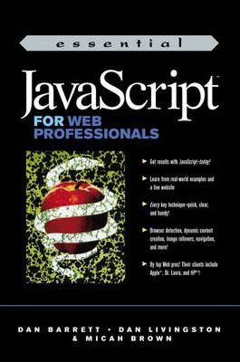 Essential JavaScript for Web Professionals