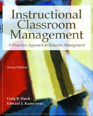 Instructional Classroom Management