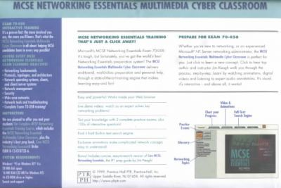 Complete Mcse Networking Essentials Cyber Classroom CD-Rom