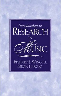 Introduction to Research in Music