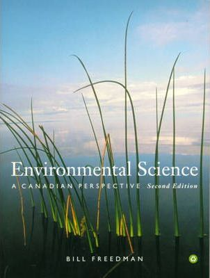 Environmental Science:a Canadian Perspective