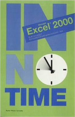 Excel 2000 In No Time