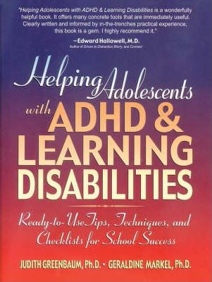 Helping Adolescents with ADHD and Learning Disabilities