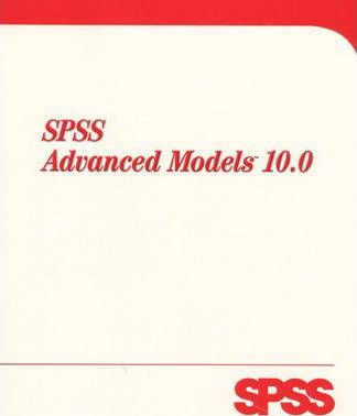 SPSS Advanced Models 10.0